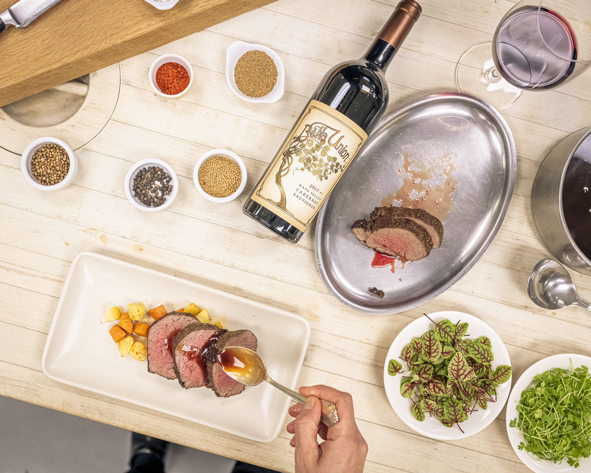 Virtual Wine and Food Pairings