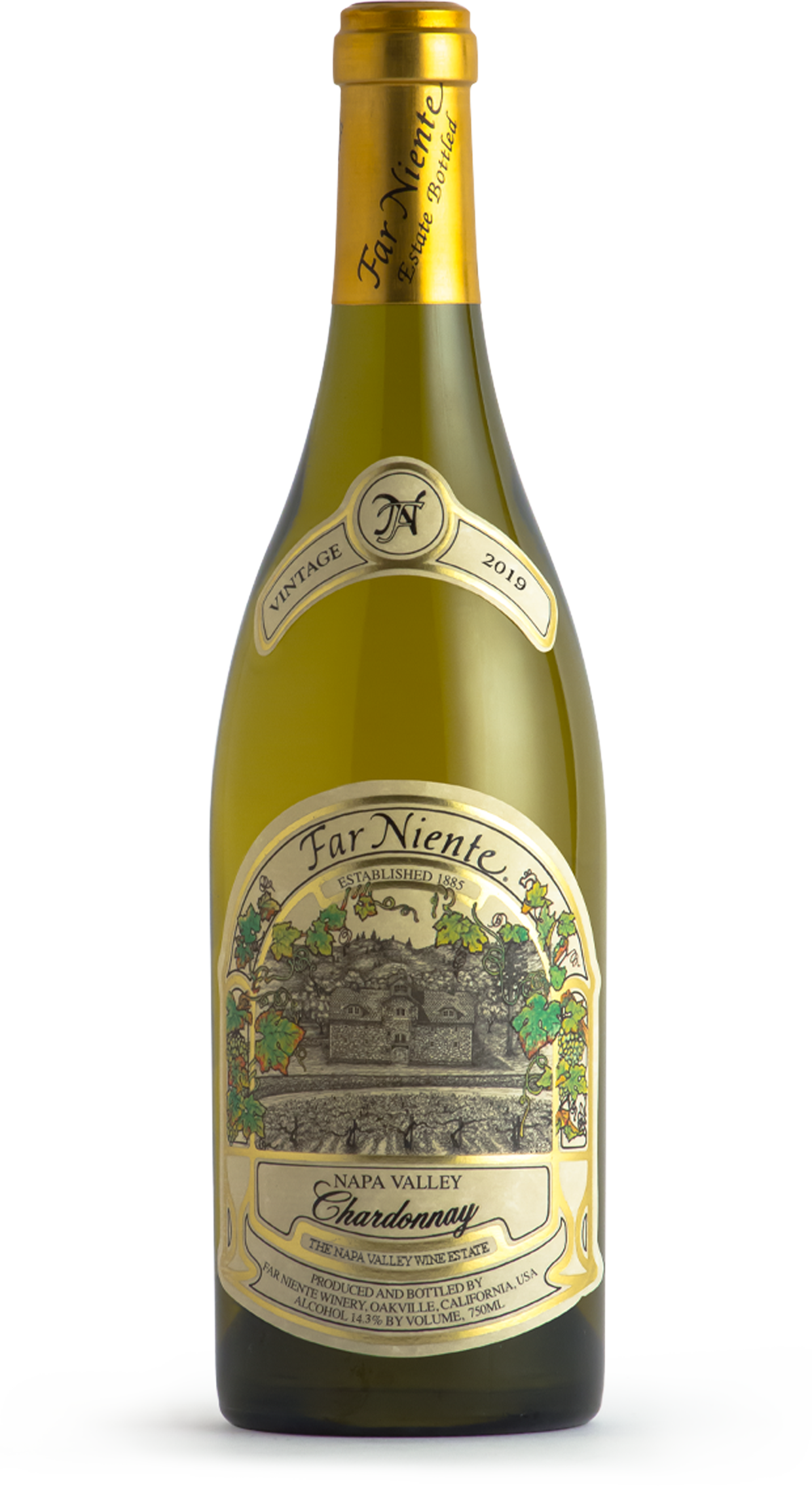 2019 Far Niente Estate Bottled Chardonnay, Napa Valley