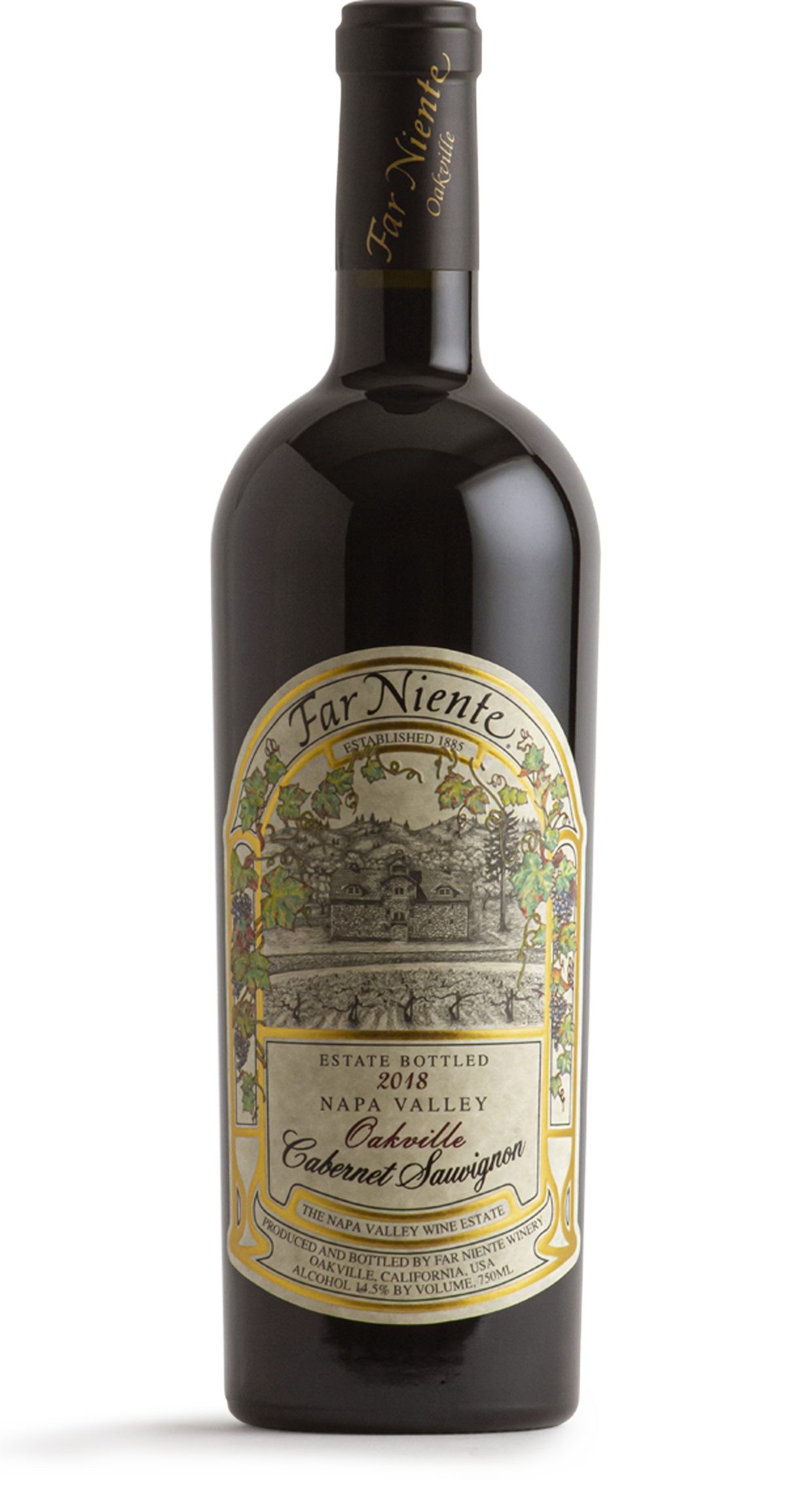 2018 Far Niente Estate Bottled Cabernet Sauvignon, Oakville