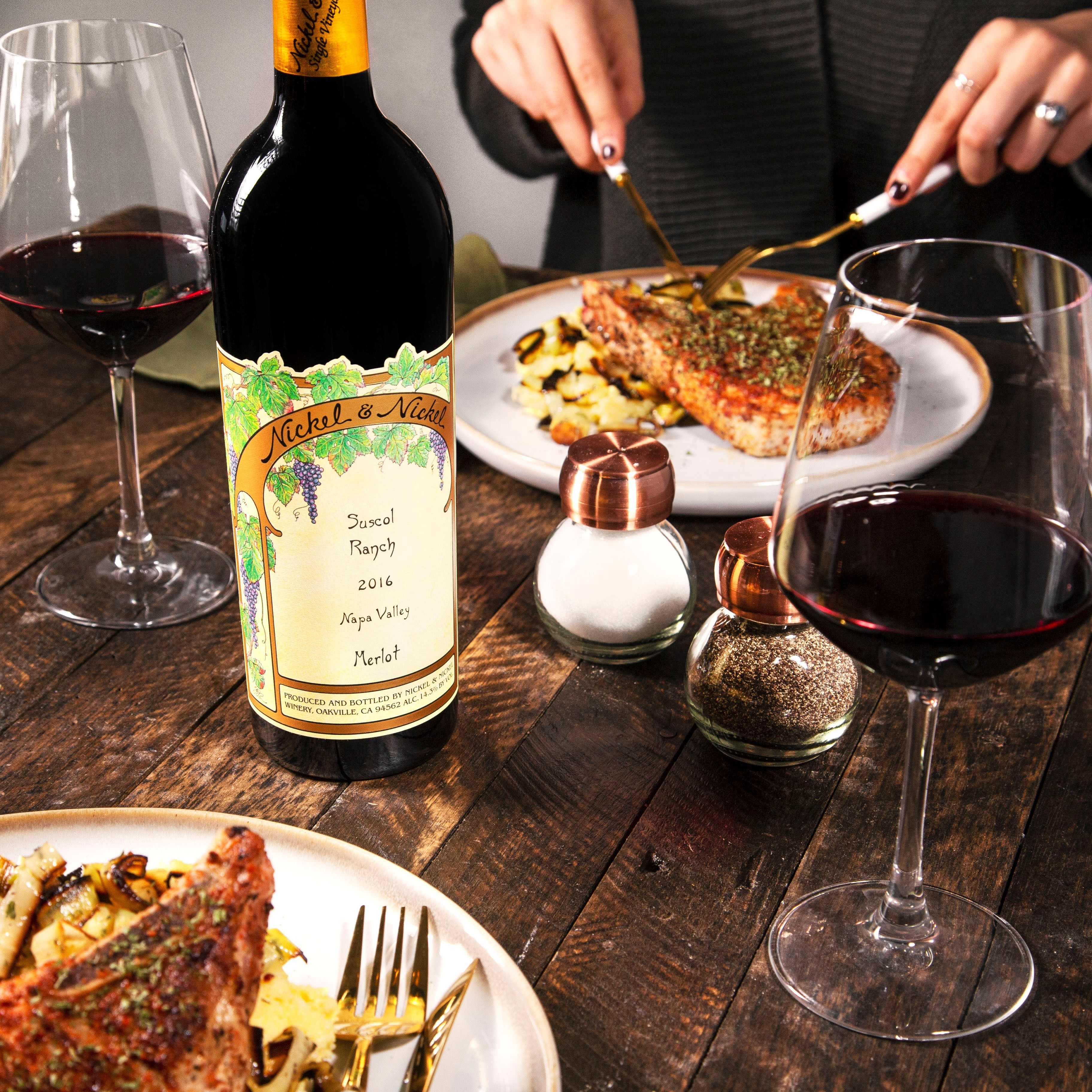 This Napa Valley Merlot Loves Food (Especially These Pork Chops)