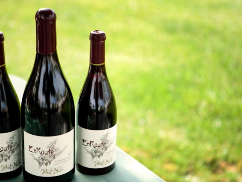Introducing EnRoute Single-Vineyard Pinot Noir