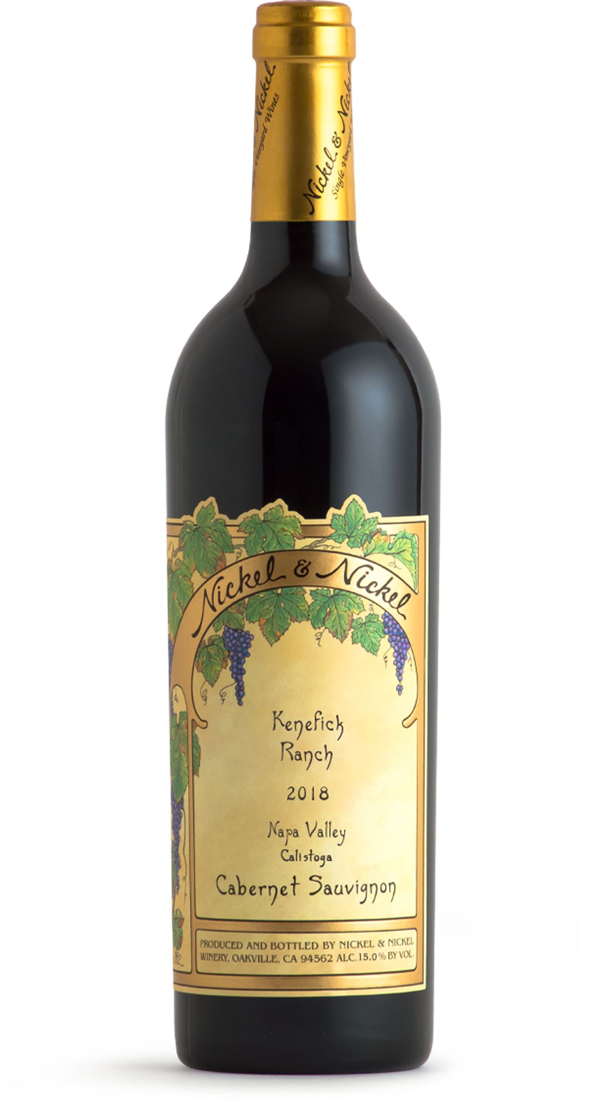 2018 Nickel & Nickel Kenefick Ranch Cabernet Sauvignon, Calistoga